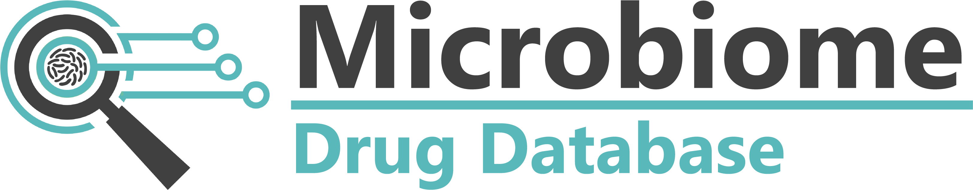 microbiome drug database logo 2